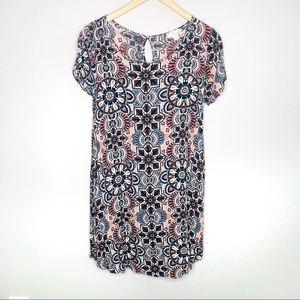 Misia Zulily Patterned Lightweight Dress | Sz M